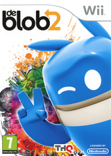 de Blob 2 pochette Wii (SDBP78)