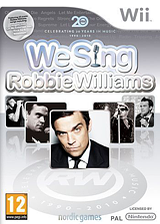 We Sing : Robbie Williams pochette Wii (SINPNG)