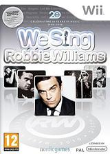 We Sing:Robbie Williams pochette Wii (SINPNG)