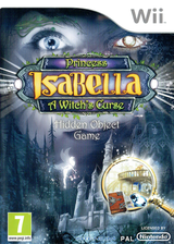 Princess Isabella: A Witch's Curse pochette Wii (SISPUH)