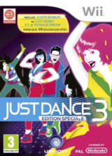 Just Dance 3 Special Edition pochette Wii (SJDX41)