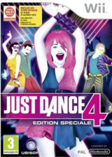 Just Dance 4 Special Edition pochette Wii (SJXD41)