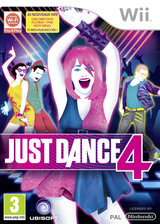 Just Dance 4 pochette Wii (SJXP41)