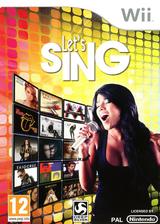 Let's Sing pochette Wii (SLFPKM)