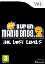 Depot Super Mario Bros. Wii 2: The Lost Levels pochette CUSTOM (SMNPZD)