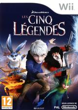 Les Cinq Légendes pochette Wii (SU7PAF)