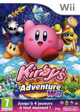 Kirby's Adventure Wii pochette Wii (SUKP01)