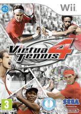 Virtua Tennis 4 pochette Wii (SV4P8P)