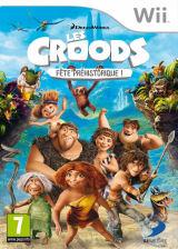 Les Croods:Fête Préhistorique ! pochette Wii (SVVPAF)