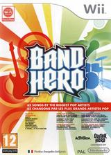 Band Hero pochette Wii (SXFP52)