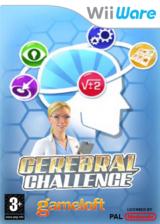 Cérébral Challenge pochette WiiWare (W2CP)