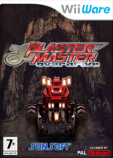Blaster Master Overdrive pochette WiiWare (W2MP)