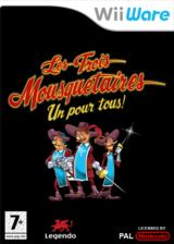 Les Trois Mousquetaires:Tous pour un! pochette WiiWare (W3MP)