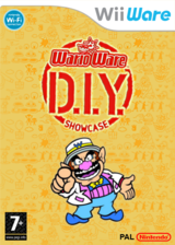 WarioWare : Do It Yourself - Showcase pochette WiiWare (WA4P)