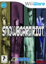 Snowboard Riot pochette WiiWare (WBBP)