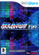 Arkanoid Plus! pochette WiiWare (WBKP)