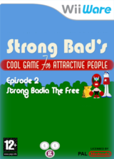 Strong Bad Episode 2:Strong Badia - The Free pochette WiiWare (WBYP)