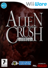 Alien Crush Returns pochette WiiWare (WE9P)