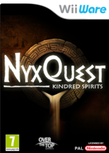 NyxQuest : Kindred Spirits pochette WiiWare (WICP)