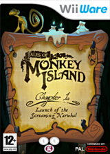 Tales of Monkey Island Chapter 1:Launch of the Screaming Narwhal pochette WiiWare (WILP)
