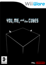 You, Me and the Cubes pochette WiiWare (WKBP)