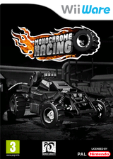 Monochrome Racing pochette WiiWare (WMRP)
