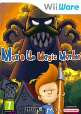 Max & the Magic Marker pochette WiiWare (WMXP)