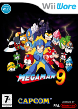 Megaman 9 pochette WiiWare (WR9P)