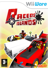 Racers Islands Crazy Arenas pochette WiiWare (WREP)