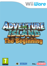 Adventure Island The Beginning pochette WiiWare (WTMP)