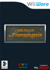 The Will of Dr. Frankenstein pochette WiiWare (WWLP)