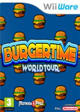 BurgerTime World Tour pochette WiiWare (WWTP)