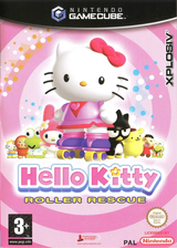 Hello Kitty: Roller Rescue GameCube cover (GH6P7N)