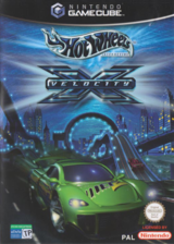 Hot Wheels: Velocity X GameCube cover (GHWP78)
