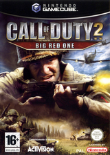 Call of Duty 2: Big Red One GameCube cover (GQCI52)