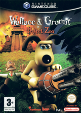 Wallace & Gromit in Project Zoo GameCube cover (GWLX6L)