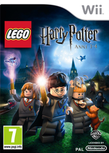LEGO Harry Potter: Anni 1-4 Wii cover (R25PWR)
