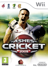 Ashes Cricket 2009 Wii cover (R6KU36)