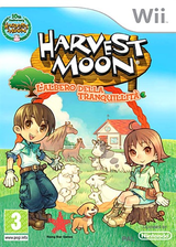 Harvest Moon: L'Albero della Tranquillità Wii cover (R84P99)