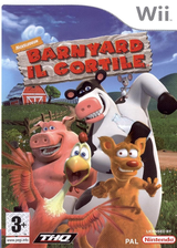Barnyard: Il cortile Wii cover (RBYP78)