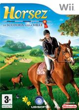 Horsez: La Scuderia nella Valle Wii cover (RHZP41)