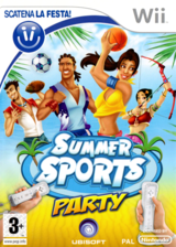 Summer Sports Party Wii cover (RI6P41)