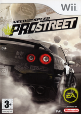 Need for Speed: Pro Street Wii cover (RNPY69)