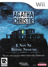 Agatha Christie: E non ne rimase nessuno Wii cover (RQTP6V)