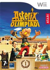 Asterix alle Olimpiadi Wii cover (RQXP70)