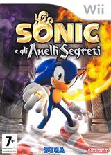 Sonic e gli Anelli Segreti Wii cover (RSRP8P)