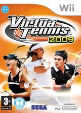 Virtua Tennis 2009 Wii cover (RVUP8P)