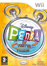Disney Pensa !n Fretta: Il Grande Quizz Wii cover (RXDP4Q)