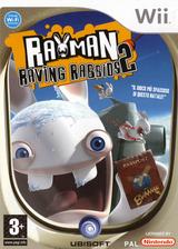Rayman Raving Rabbids 2 Wii cover (RY2P41)