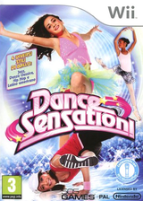 Dance Sensation! Wii cover (SDEPGT)